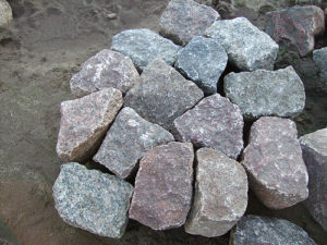 Polygonal-Gebrauchtpflaster
